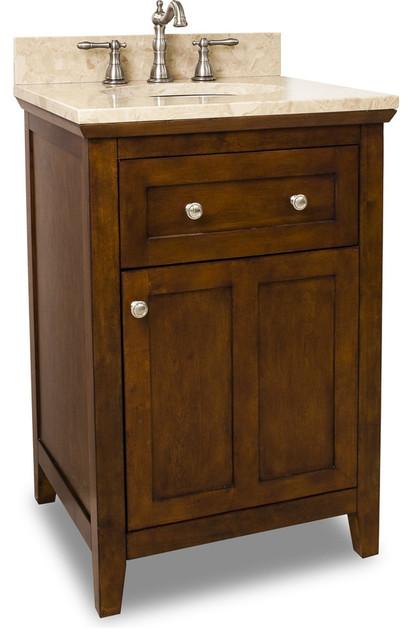 24 Wide Solid Wood Vanity VAN090 24 T Bathroom Vanities