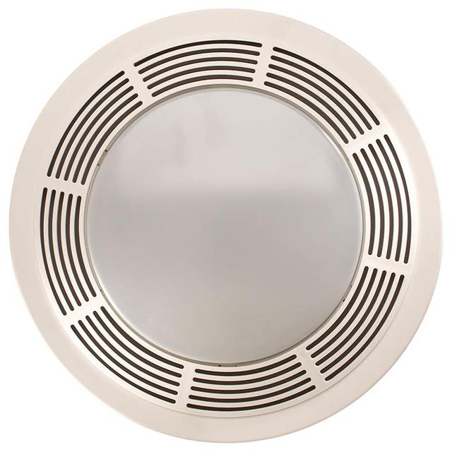 Round bathroom exhaust fan