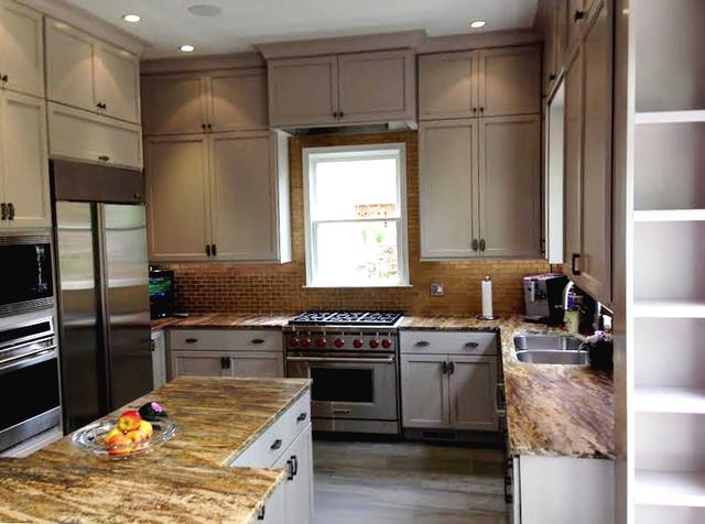 Schroeter Residence Remodel Craftsman Atlanta Di Morning Glory Kitchen And Bath Design Center