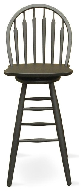 Windsor Arrowback Swivel Stool Bar Stools And Counter Stools