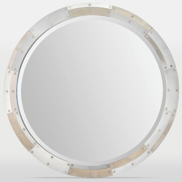 Armstrong Round Framed Mirror Modern Wall Mirrors