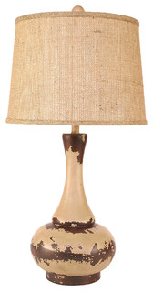 pot lamp traditional table lamps by coast lamp mfg inc. Black Bedroom Furniture Sets. Home Design Ideas