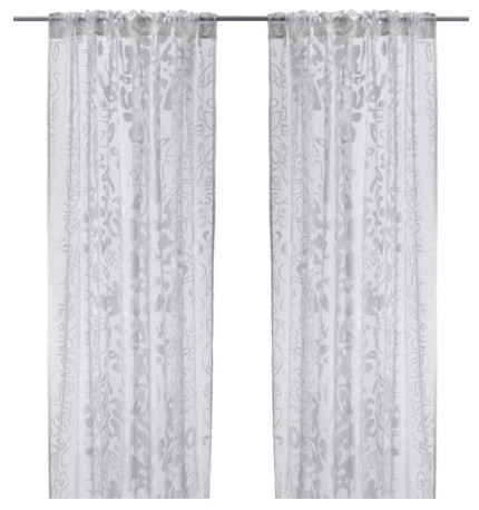 Ofelia Blad Pair Of Curtains Scandinavian Curtains