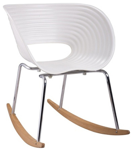 Clam Shell Rocking Chair Modern Living Room Chairs By Dot Bo