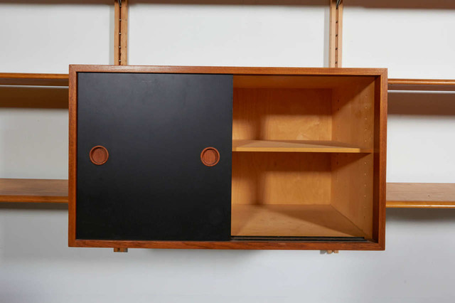 Danish Wall Unit by Finn Juhl - Eclectic - Bookcases - by Baxter & Liebchen