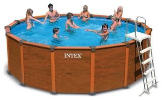 piscine hors sol tubulaire intex sequoia spirit piscine hors sol other metro par raviday. Black Bedroom Furniture Sets. Home Design Ideas