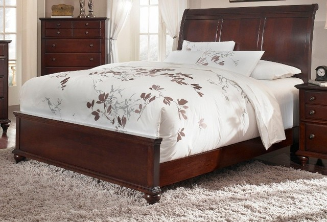 Broyhill Hayden Place Sleigh Bed 4647 27 SET