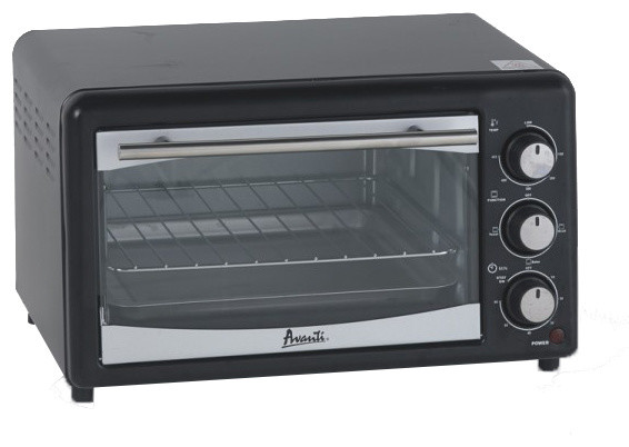 Avanti 0.6 Cubic Feet Countertop Oven & Broiler - Traditional - Toaster Ovens - by Varouj Appliances