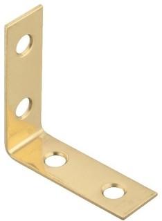 Solid Brass Corner Brace