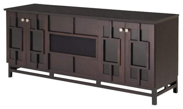 70 asian styled tv media console wenge asiatique solution m dia et meuble tv. Black Bedroom Furniture Sets. Home Design Ideas