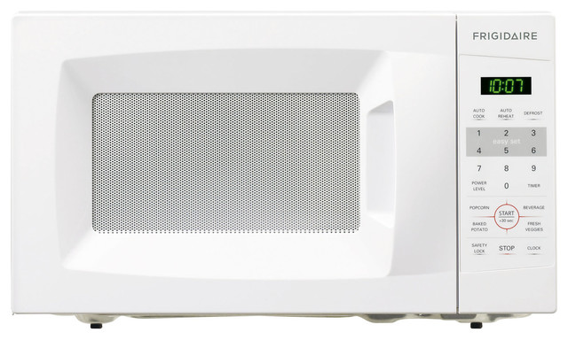 Countertop Microwave Gardenweb : Countertop Microwave, White, 0.7 Cubic Ft. - Contemporary - Microwave ...