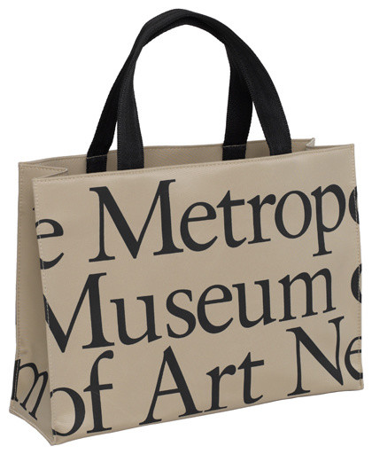 The Metropolitan Museum of Art Logo Horizontal Tote