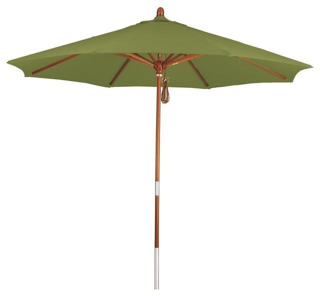 7 5 ft market patio umbrella in gingko contemporary