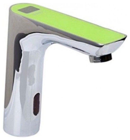 Electronic Automatic Motion Sensor Bathroom Touchless Faucet Contemporary Bathroom Sink
