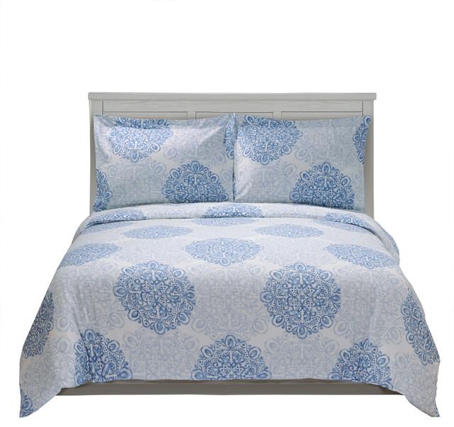 Superior 300 Thread Count Cotton Duvet Cover Set Crawford