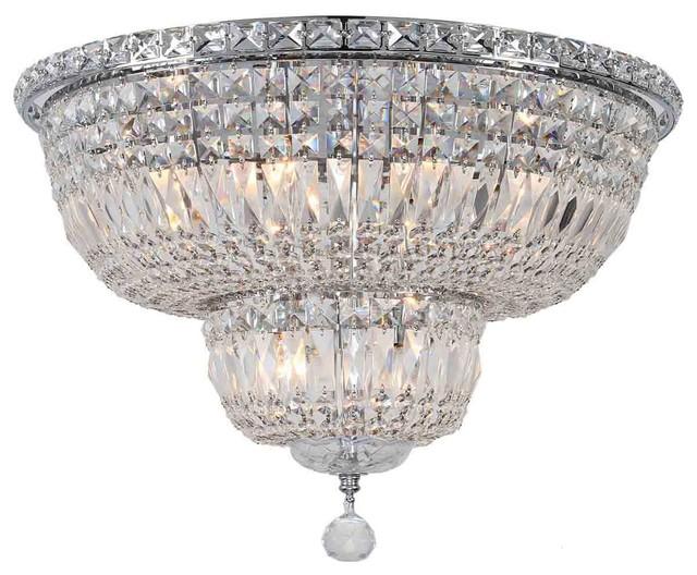Empire  Light Crystal Flush Mount Ceiling Light