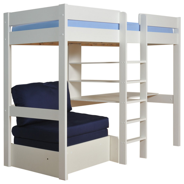 Stompa Uno 5 High Sleeper Including Mattress Children