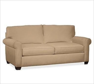 Buchanan Upholstered Sleeper Sofa Polyester Wrap Cushions
