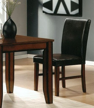 Canterbury Denton Dining Chair In Roasted Cocoa Set Of 2 Contemporary Dining Chairs By
