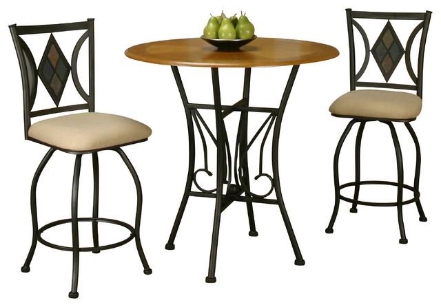 3 piece dart pub table set indoor pub and bistro sets by sunset trading. Black Bedroom Furniture Sets. Home Design Ideas