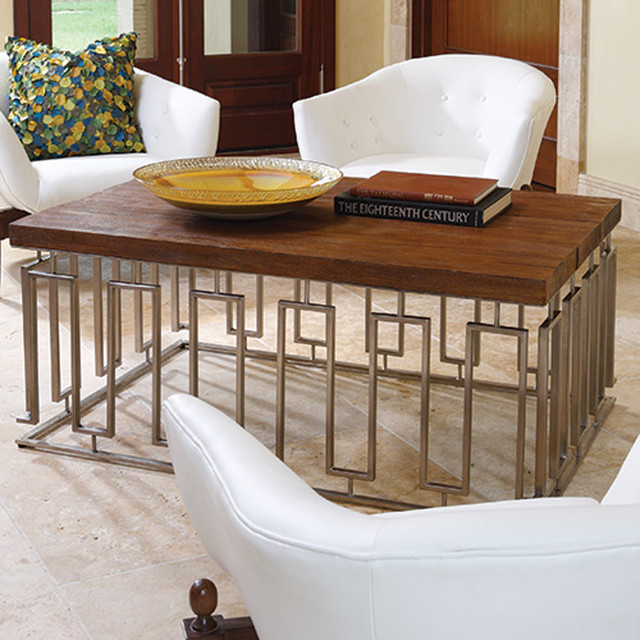 Pinned Key Cocktail Table Eclectic Coffee Tables Atlanta By Iron Accents