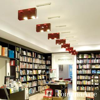 duplex suspension light 4 light by fontanaarte modern pendant lighting los angeles by. Black Bedroom Furniture Sets. Home Design Ideas