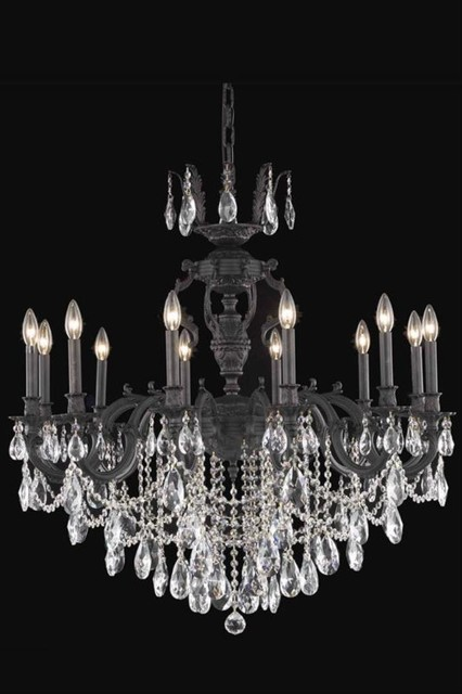 elegant lighting 8512d36db sa chandelier from the marseille collection contemporary. Black Bedroom Furniture Sets. Home Design Ideas