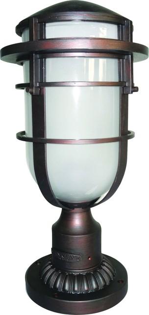 Hinkley hk reef3 vz contemporain lampadaire exterieur for Lampadaire exterieur contemporain