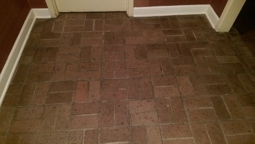 Problems With Brick Floors : Updating split brick floors