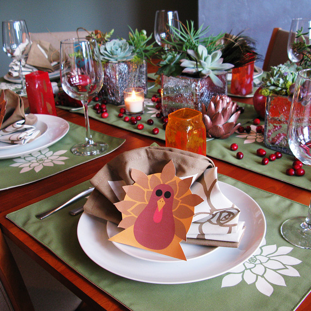 Thanksgiving Dining Table Decorations  san diego  by