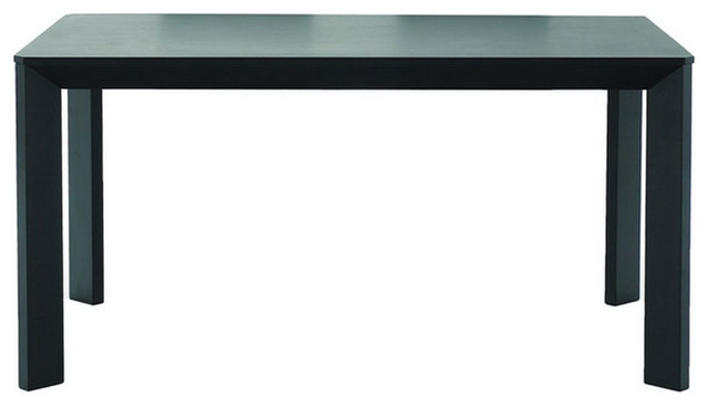 Black Wood Dining Table Modern Miami By Brickell Collection