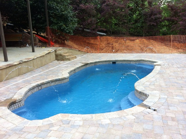 Fiberglass pool installation birmingham al for Fiberglass pool installation