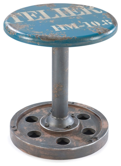 Wheel Stool Industrial Bar Stools And Counter Stools  : industrial bar stools and counter stools from www.houzz.com size 468 x 640 jpeg 58kB