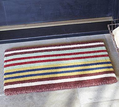 Keller Stripe Coir Door Mat 18 X 30 Quot Traditional