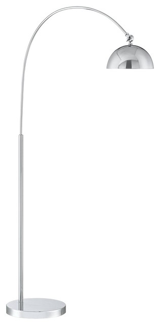 Possini euro design erico chrome led arc floor lamp for Possini lighting website