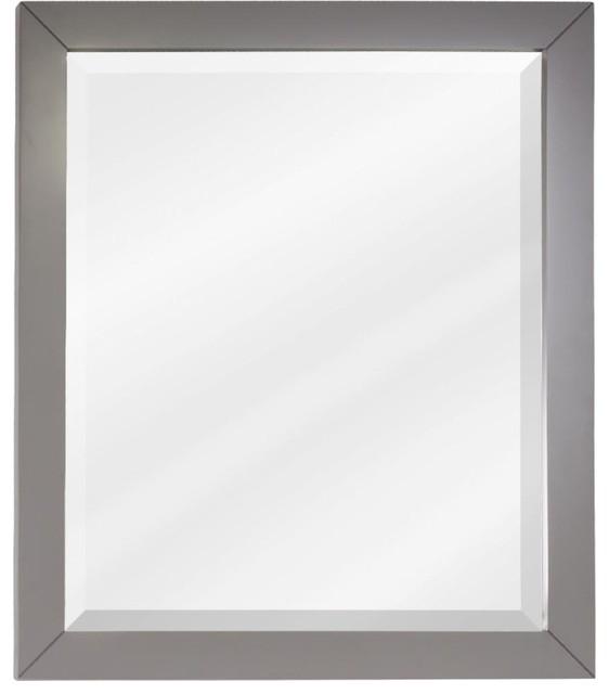 Lyn Design Mir100 24 24 Mirror Contemporary Bathroom Mirrors By Corbel Universe