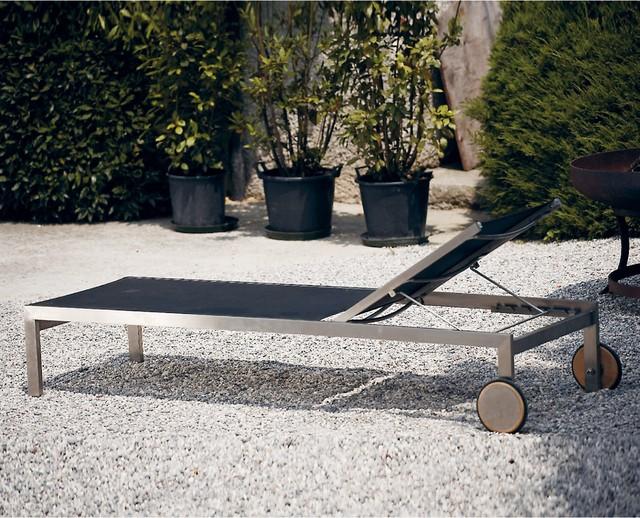 luxury liege bauhaus look gartenliegen sonnenliegen. Black Bedroom Furniture Sets. Home Design Ideas