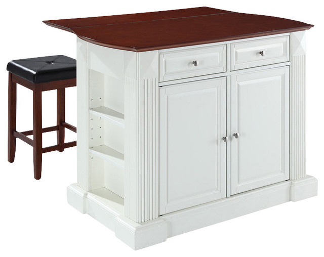 Breakfast Bar Top Kitchen Island With Square Contemporary Kitchen Islands And Kitchen Carts