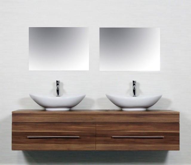 waschtisch walnuss modern waschtische von emotion. Black Bedroom Furniture Sets. Home Design Ideas