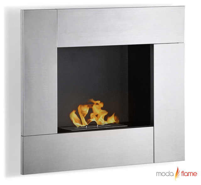 Reus GF102150 Bio Ethanol Wall Fireplace By Moda Flame