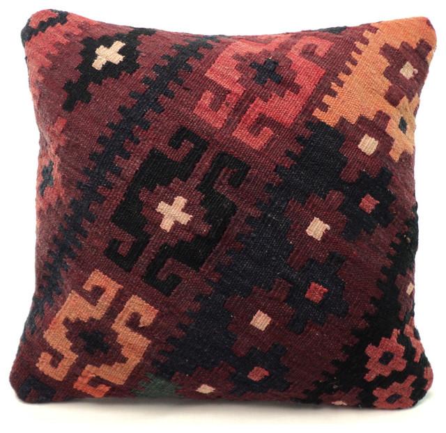 Afghan Maimana Kilim Pillow