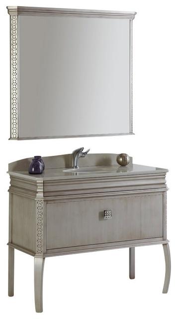 silver bathroom vanity w swarovski handles traditional bathroom