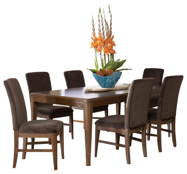 Traditional Dining Room Set: Homelegance Beaumont 7-Piece Dining Room Set In Medium