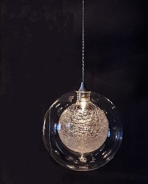 Hand Blown Glass Globe Pendants Contemporary Lighting