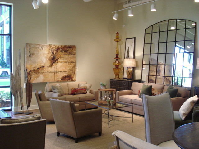 products displayed in lee showroom high point market modern home decor