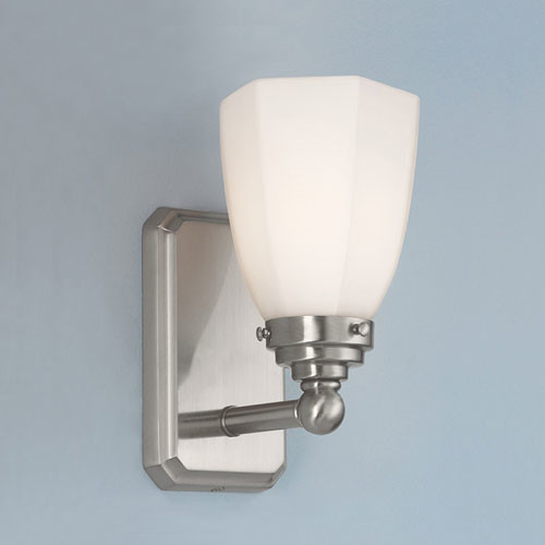 Williams Brushed Nickel Single Light Wall Sconce - Modern - Wall Lighting