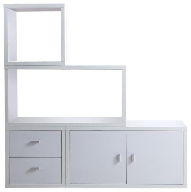 Sasha Modern Stackable Storage - Storage Cabinets - by Zenia Home Furnishing and Decor