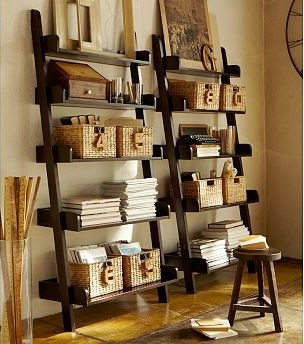 Studio Wall Shelf, Espresso stain - Traditional - Display And Wall Shelves - by Pottery Barn