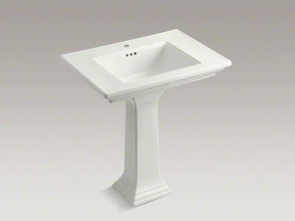 Kohler Memoirs Pedestal Sink : KOHLER Memoirs(R) Stately 30