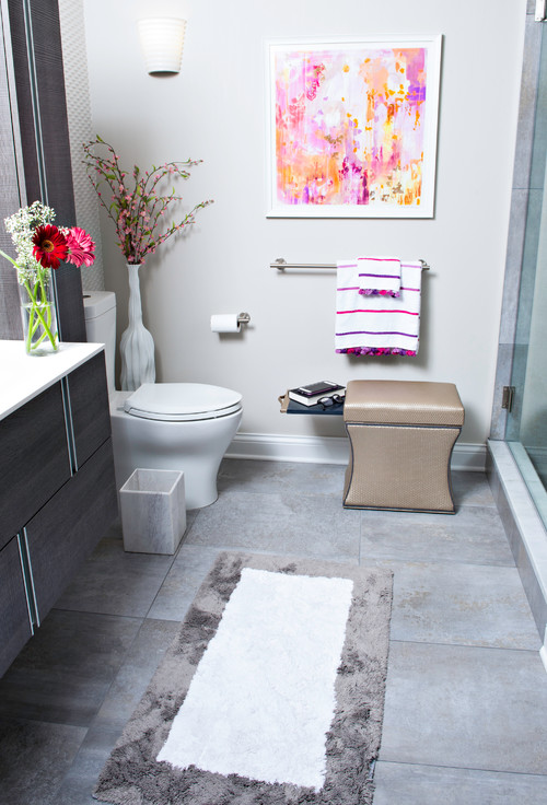 Would You Put An Ottoman In Your Bathroom